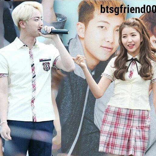 bts jin dating gfriend