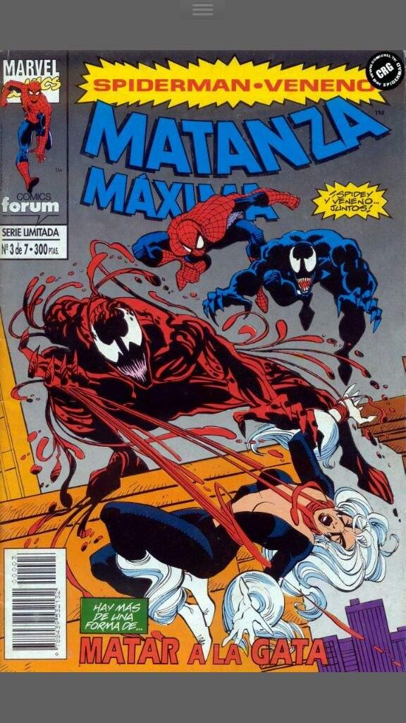 Comic #3 Spider Man-Venom Matanza Máxima Parte 1 | •Cómics