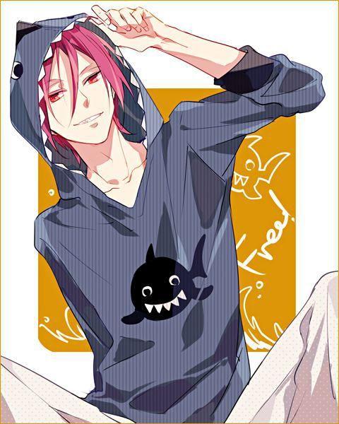 Kawaii Anime Amino Swimmer love sharks belong to iwatobi swim club anime:free! kawaii anime amino
