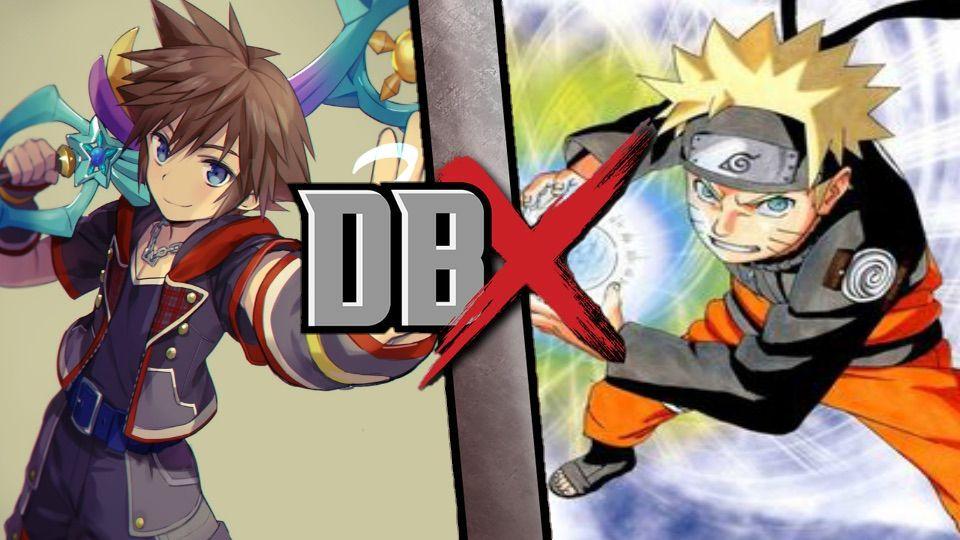 Sora Vs Naruto Kingdom Hearts Amino