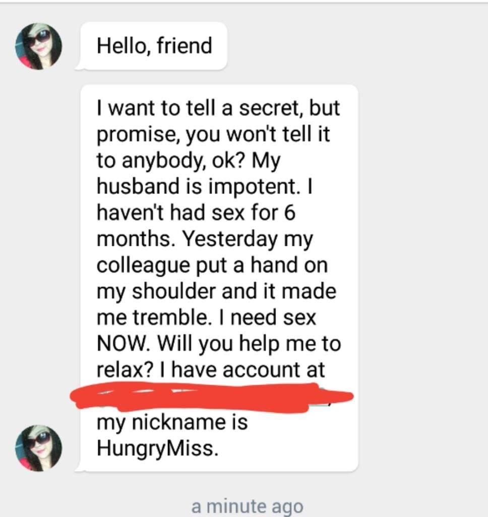 Kik sex bots