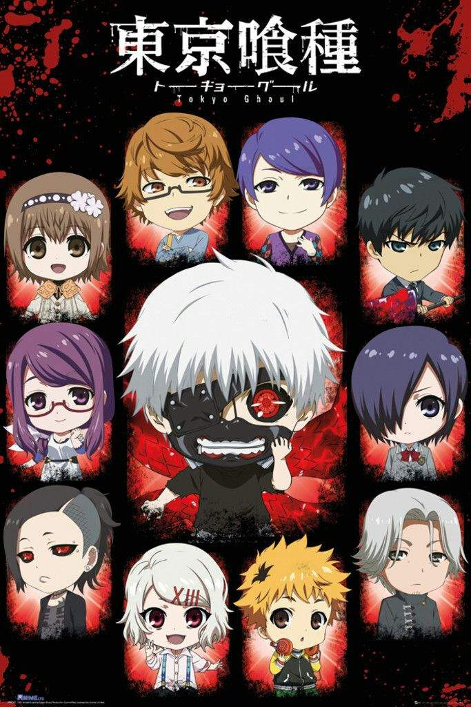 Tokyo Ghoul Character Overveiw Anime Amino