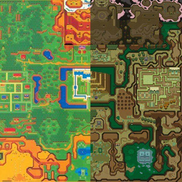 Link To The Past Light World Map.Zelda Merits Best Overall Top Down Zelda Game Zelda Amino