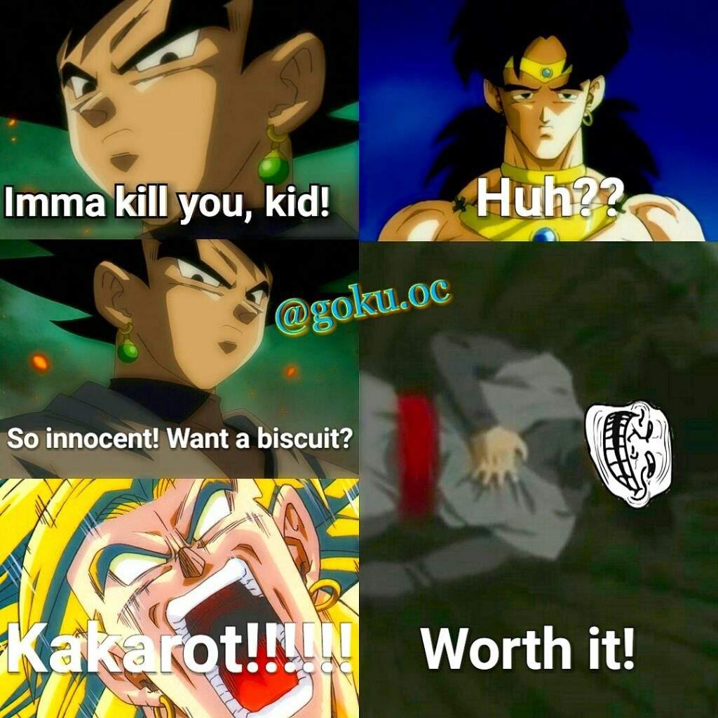 Goku Black Meme DragonBallZ Amino