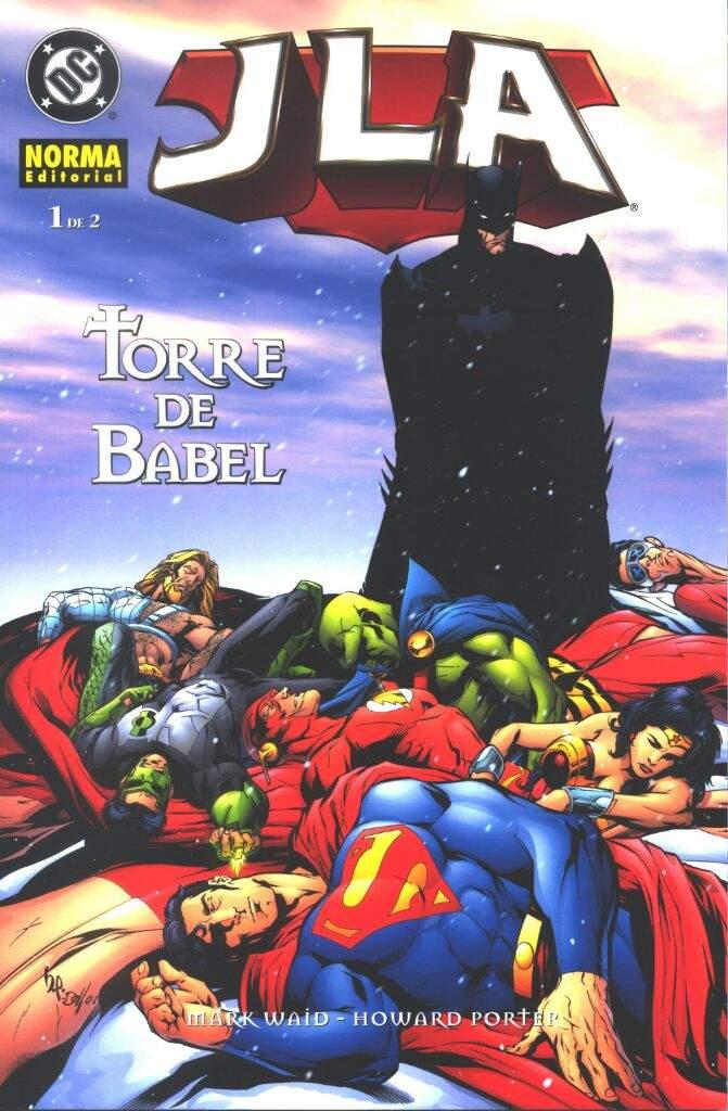 Review: JLA Torre de Babel | •Cómics• Amino
