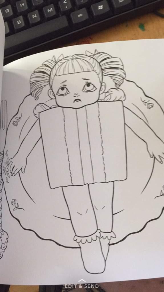 Crybaby Coloring Book 🎈🖍 | Crybabies Amino