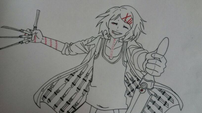 Dibujo De Suzuya Juuzou:Tokyo Ghoul
