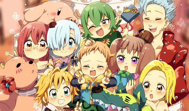 Anime Characters Over 6 Feet Tall : The seven deadly sins wiki anime amino