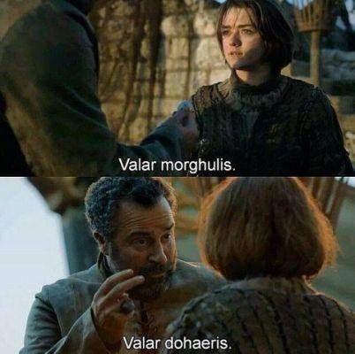 Significado Valar Game Of Thrones En Español Amino