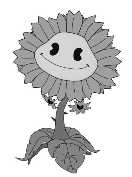 Pvz 1950 sunflower   PvZ Fan Amino Amino