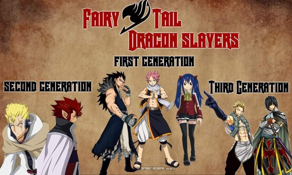 A Fourth Generation Dragon Slayer   Fairy Tail Amino
