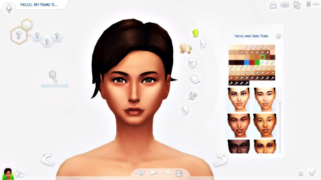 CAS://~How I Make My Sims- ( Maxis Match Edition)   Sims Amino