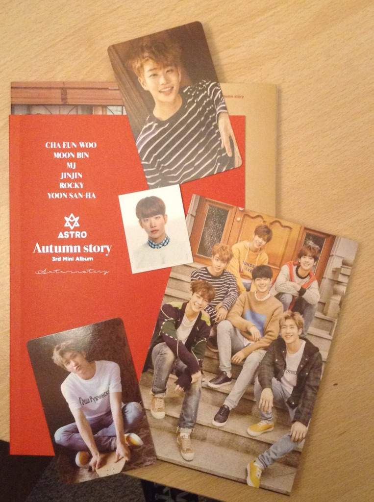 ASTRO: Autumn Story unboxing | K-Pop Amino