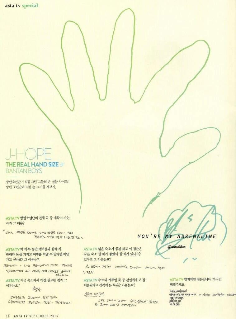 BTS's Hand Size | ARMY's Amino