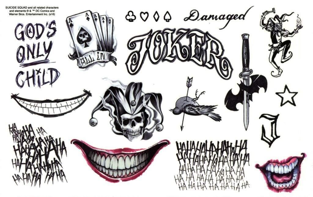 Joker Ha Ha Ha Tattoo: Tatuajes Del Joker
