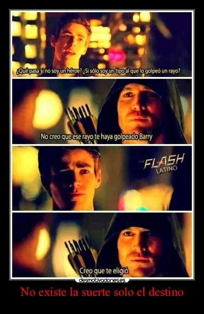 The Flash Y Arrow Frases Cómics Amino