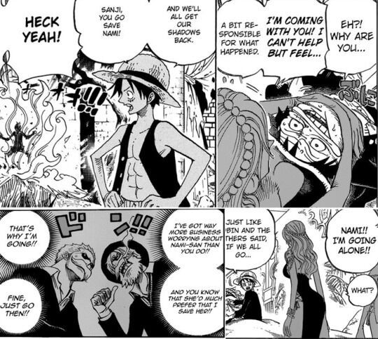 Fanfiction nami and luffy Luffy x