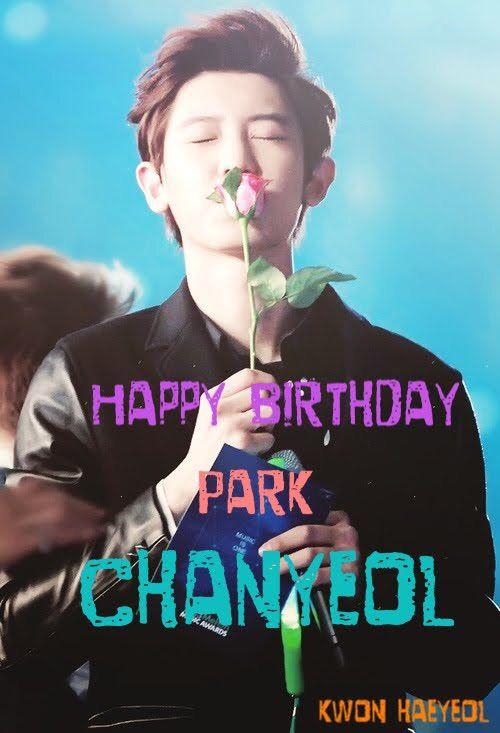 chanyeol birthday Happy birthday chanyeol   EXO (엑소) Amino chanyeol birthday