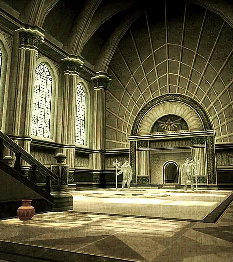 Zelda Architecture Temple Of Time Zelda Amino