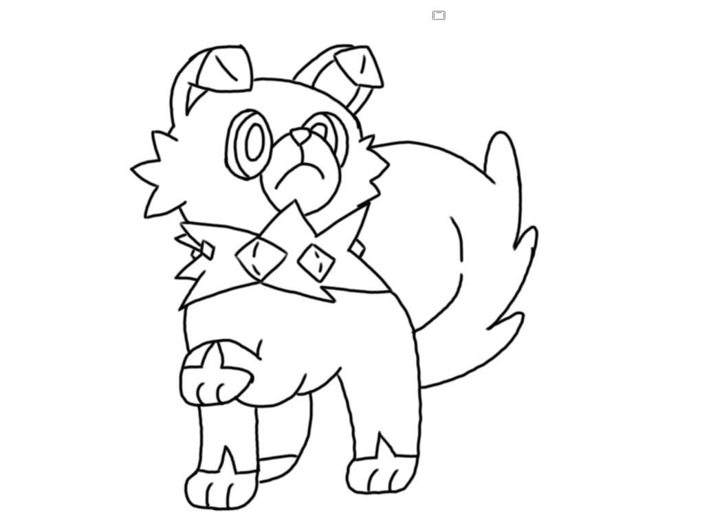 Rockruff Drawing Pokemon Amino