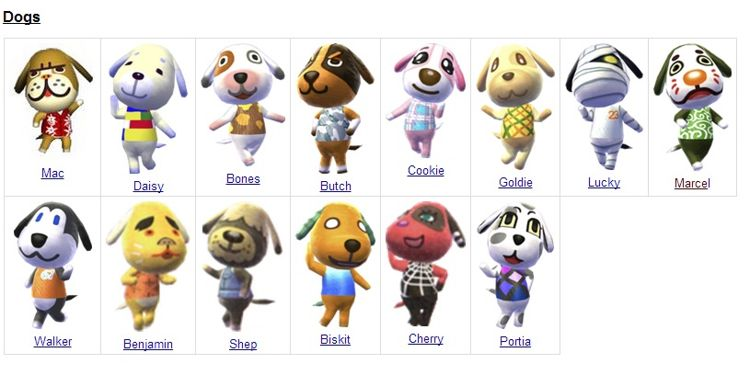 Looking For Dog Villagers Animal Crossing Amino