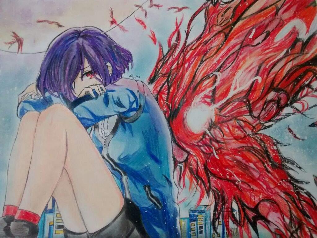 Tokyo Ghoul Dibujos Para Colorear: Tokyo Ghoul Dibujo