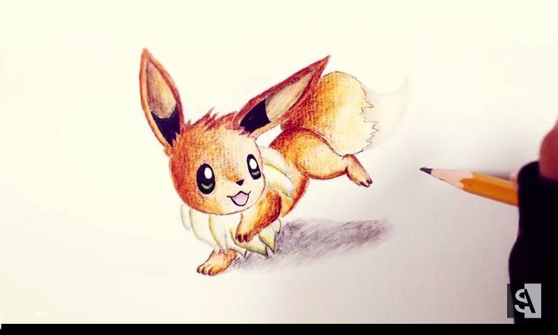 Dibujos pokemon parte 1 (eeveelutions) | •Pokémon• En Español Amino