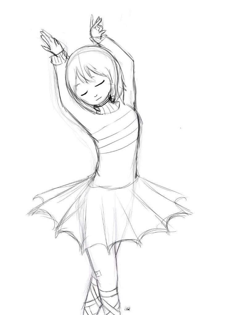 Dibujo Dancetale Frisk Undertale Español Amino