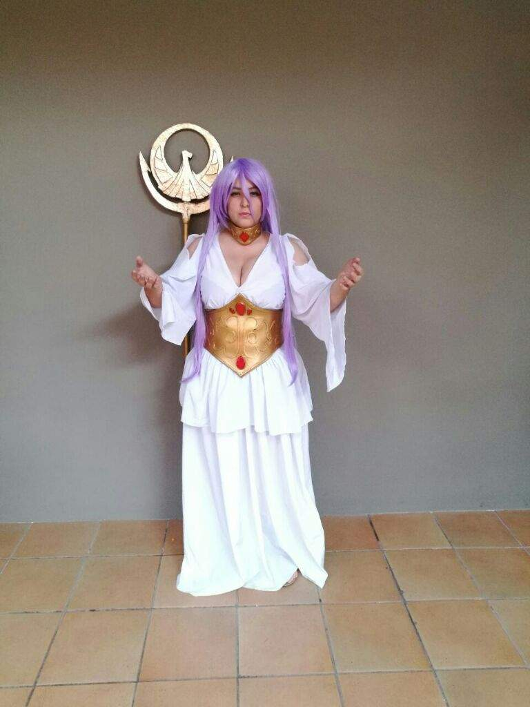 Sasha Athena - Saint Seiya Lost Canvas   Cosplay Amino