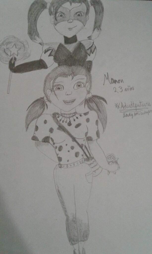 Manon 23 Años Miraculous Ladybug Español Amino