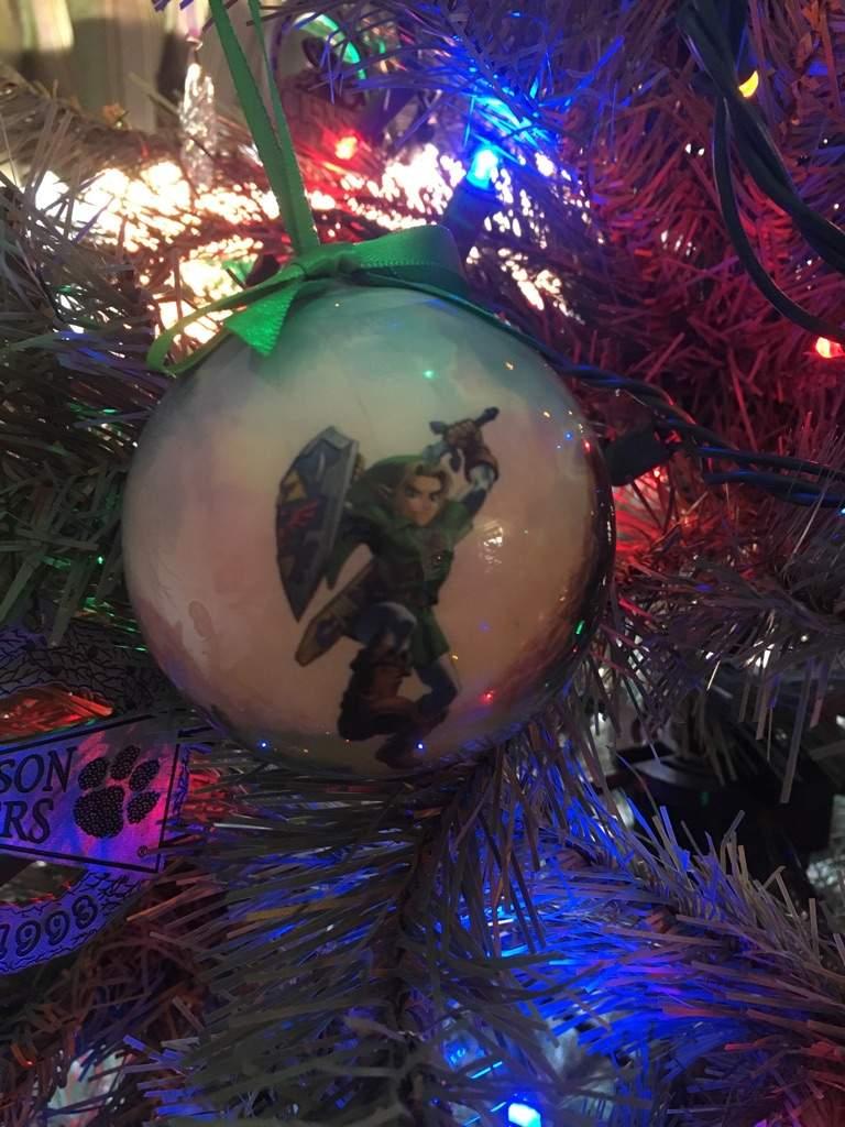 My Legend of Zelda Christmas ornament!   Zelda Amino