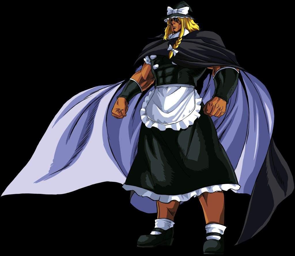 Fist Of The North Star (hokuto No Ken) X Touhou
