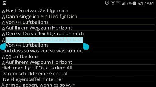 If Lied Is Neuter Then How It Einen 99 Luftballons Lyrics