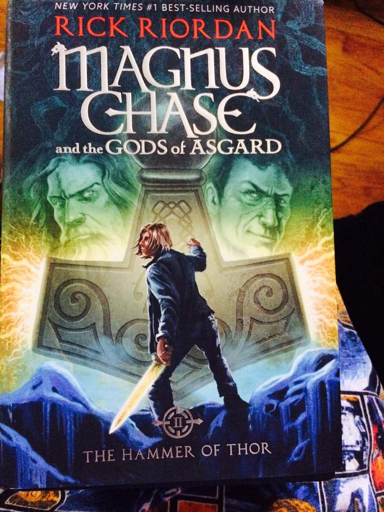 magnus chase the hammer of thor review halfblood amino