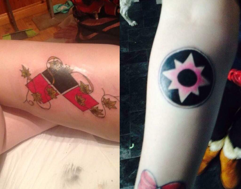 Im Deciding On Adding A Catwoman Symbol To My Harley Ivy Tattoo But Anyways Does Anyone Else Having Nerdy Tattoos