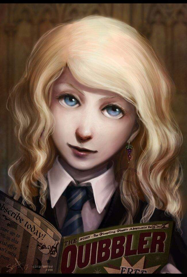 Luna Lovegood Harry Potter Amino