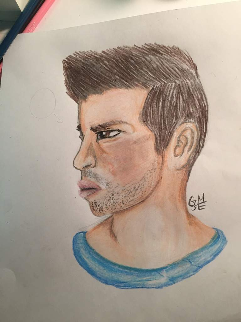 6a7e41ef0 Again, the first one is the original and the second is my drawing. I made  him look like an ugly jock XD