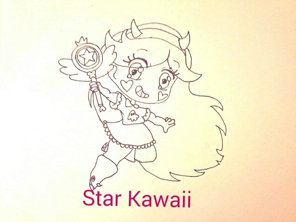 Star Contra Las Fuerzas Del Mal Dibujos: Star Vs Las Fuerzas Del Mal Kawaii