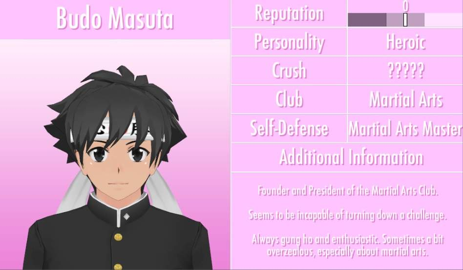 Character Profiles Part 1 Yandere Simulator Amino