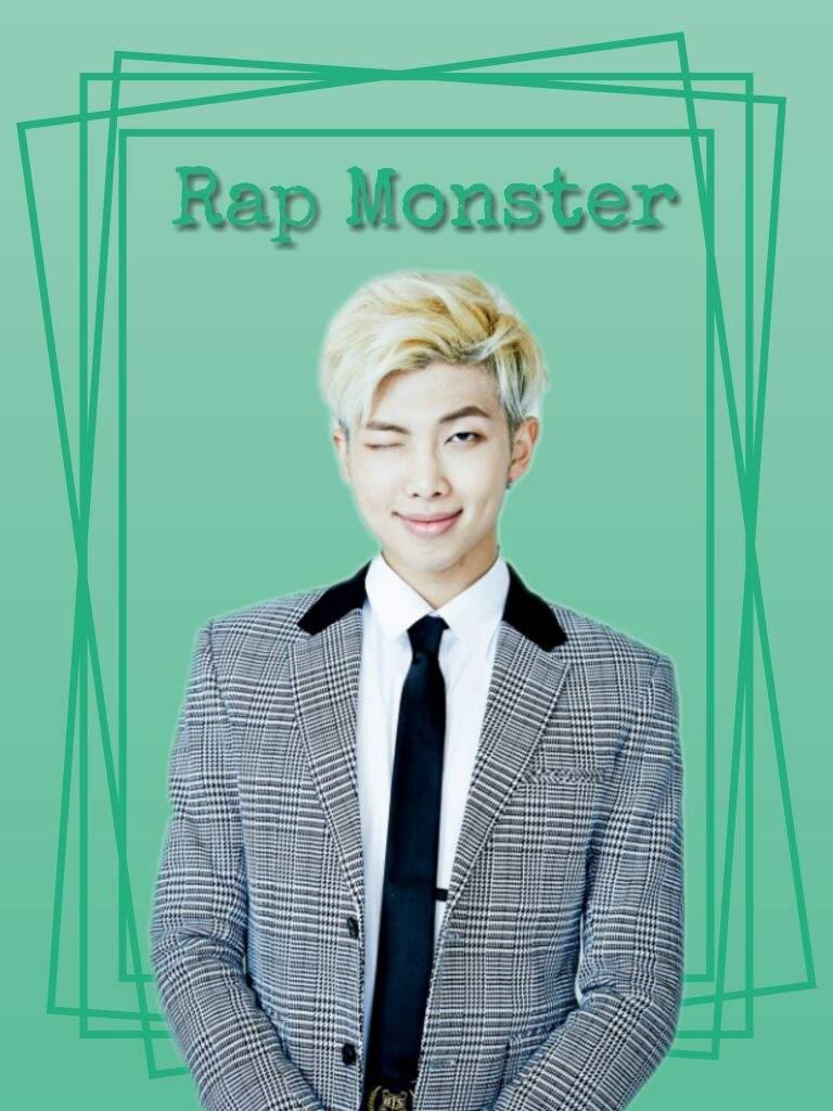 Rap Monster wallpaper #1   K-Pop Amino
