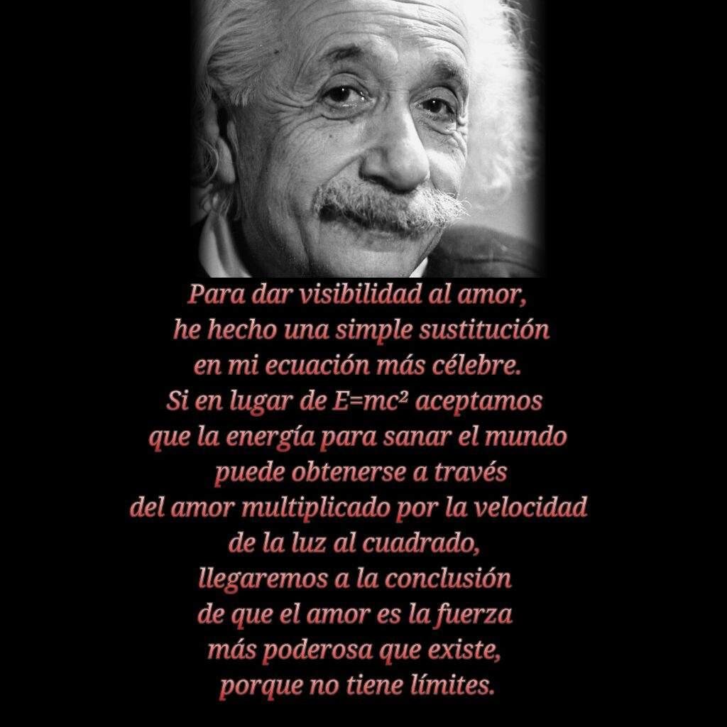 Tag Frase De Albert Einstein Sobre El Amor