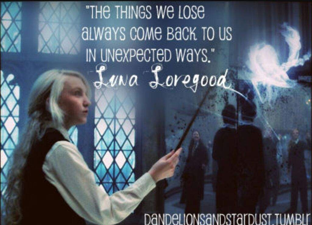 Luna Lovegood Quotes Unique Luna Lovegood's Best Quotes From HP Harry Potter Amino