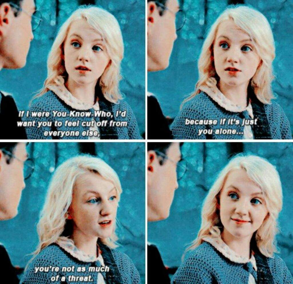 Luna Lovegood S Best Quotes From Hp Harry Potter Amino