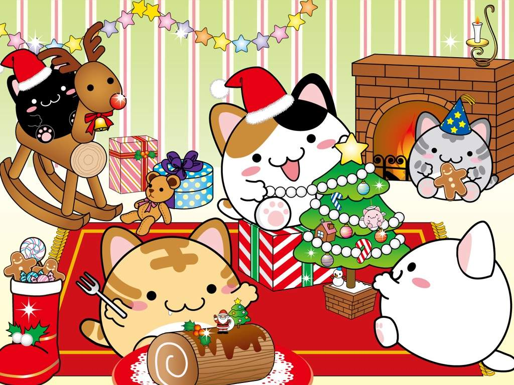 Kawaii Christmas Wallpapers | Kawaii Amino Amino