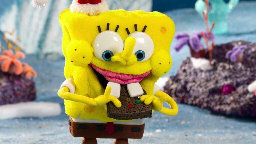 cartoon christmas special advent calendar day 5 its a spongebob christmas cartoon amino