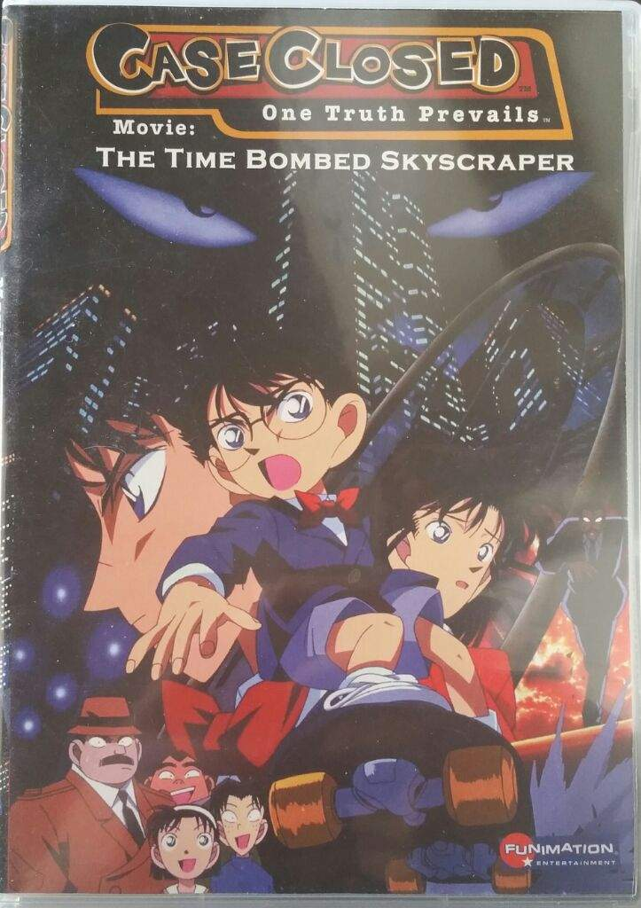Detective Conan Movie 1 : The Time Bombed Skyscraper | Anime