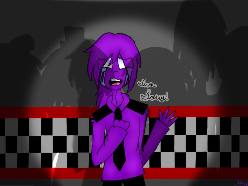 Purple guy's apology   Five Nights At Freddy's Amino
