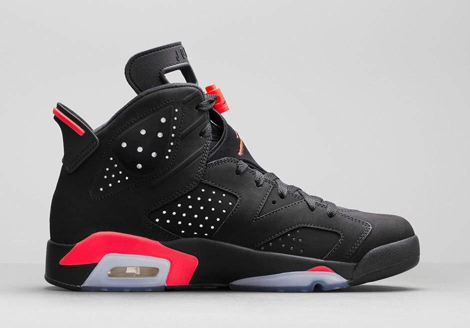wholesale dealer ede2b e6489 25 Jordan Kicks of Kicksmas  Air Jordan 6 Black Infrared