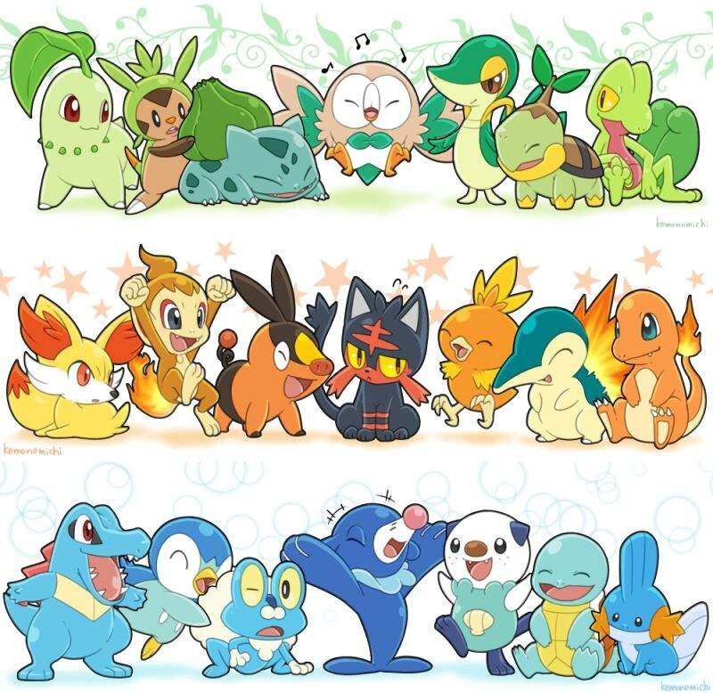 Best Gen 7 Starter Pokémon Amino