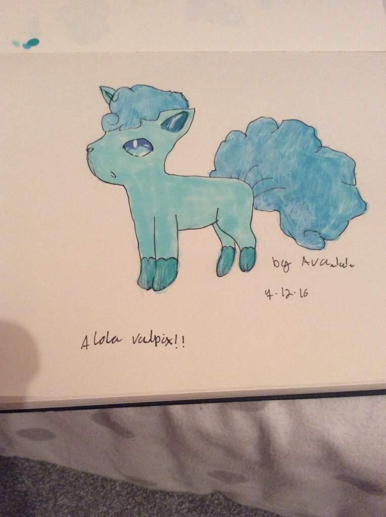 Alola Vulpix!! | Pokémon Amino